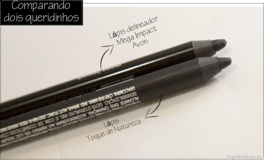 IMG 2764 1024x623 - Comparando: Lápis Toque de Natureza e Mega Impact Avon