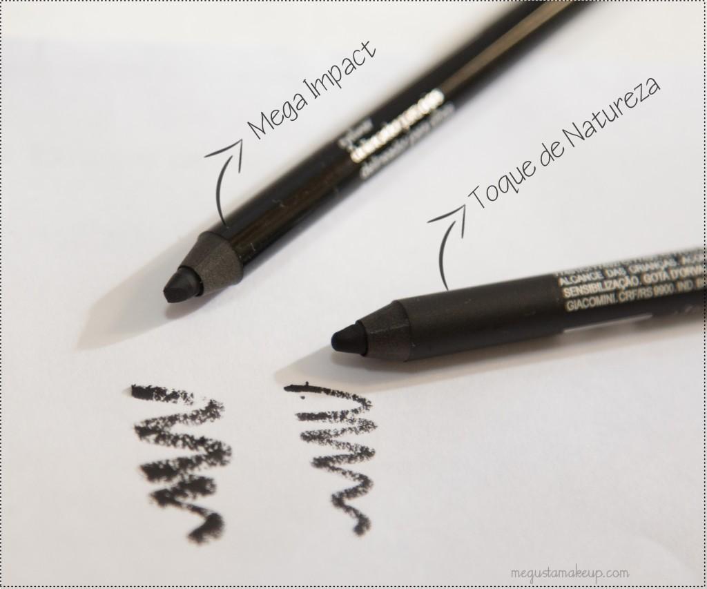 IMG 27651 1024x853 - Comparando: Lápis Toque de Natureza e Mega Impact Avon