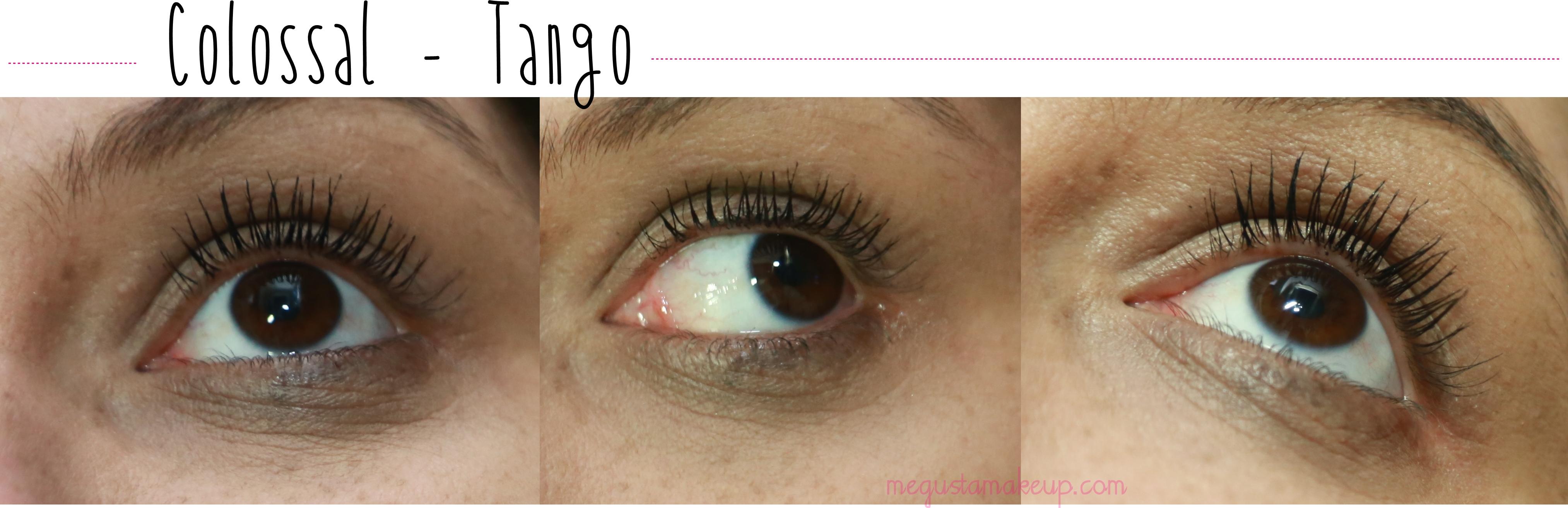 tango - Super Comparação: Mascaras Colossal Maybelline, Colossal Tango e Mega Plush Maybelline