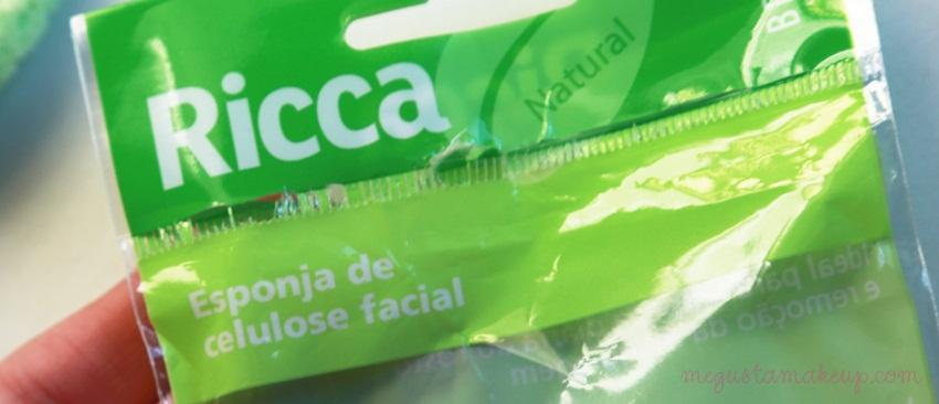 Espoja facial - Testei:  Esponja Celulose Facial da Ricca