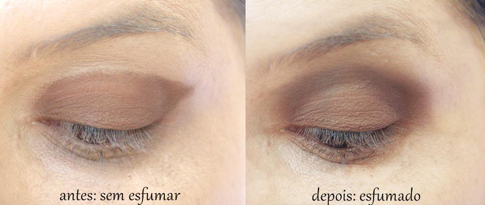 antes e depois de esfumar - Como Esfumar Sombra de um Jeito Fácil