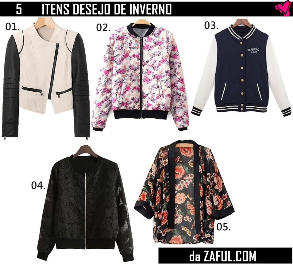 wish list de inverno - top5
