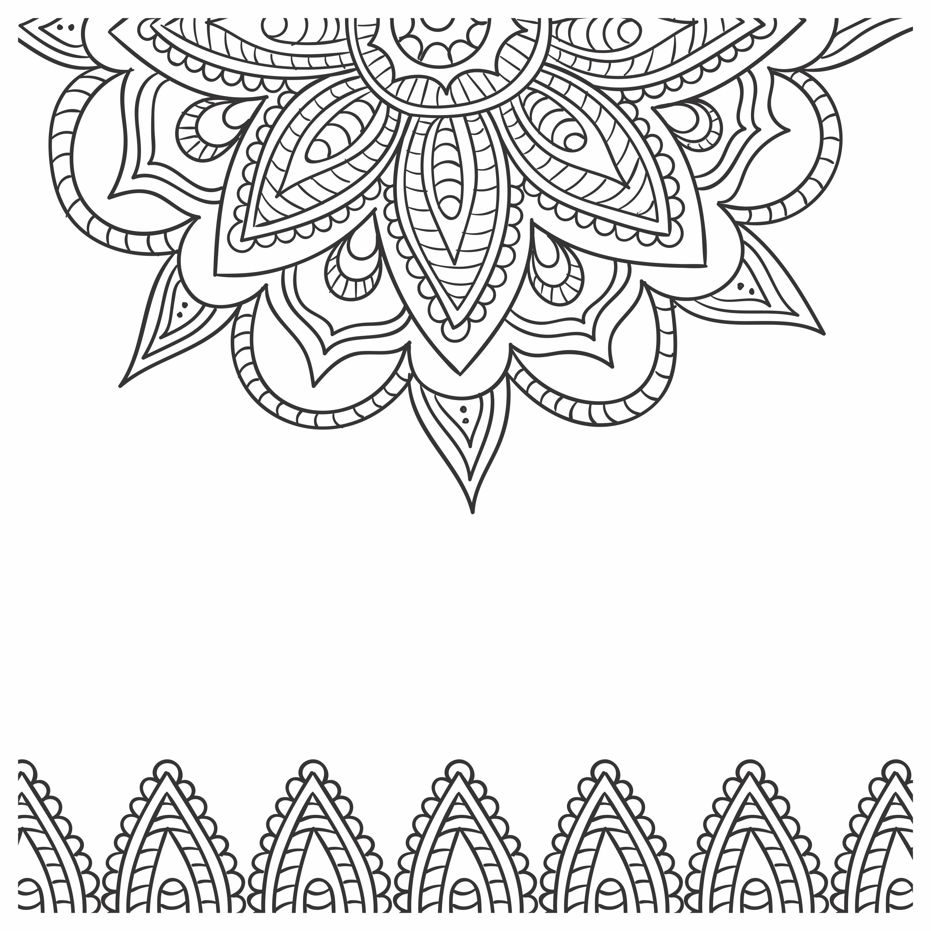 Imagens para colorir em alta 10 - Mandalas para Colorir em Alta Qualidade