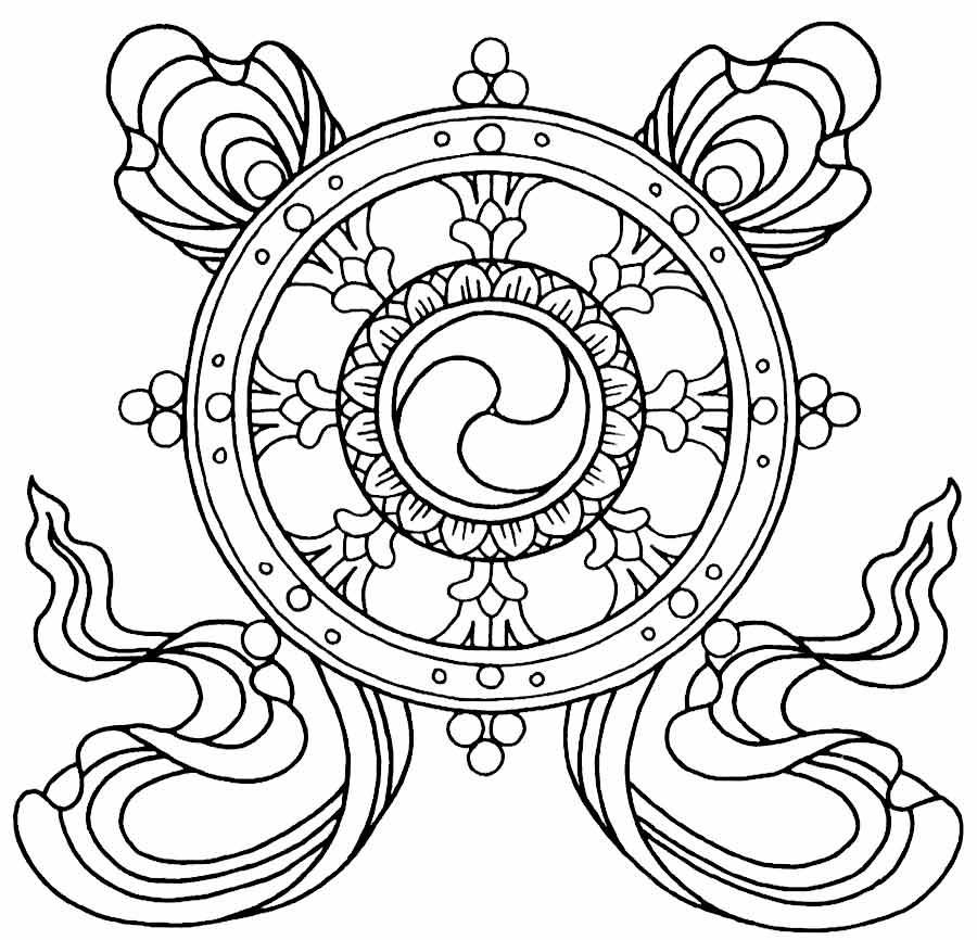Imagens para colorir em alta 3 - Mandalas para Colorir em Alta Qualidade