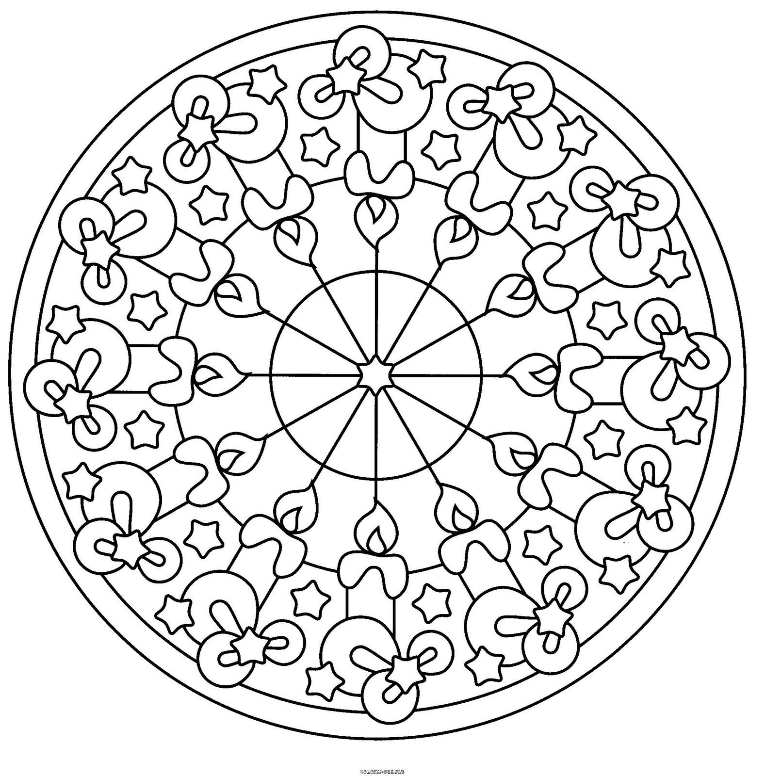 Imagens para colorir em alta - Mandalas para Colorir em Alta Qualidade