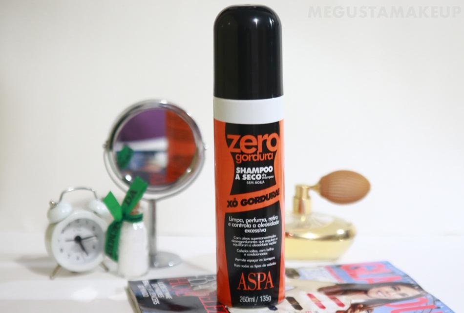 Shampoo a Seco Zero Gordura Aspa - Resenha: Shampoo a Seco Zero Gordura Aspa
