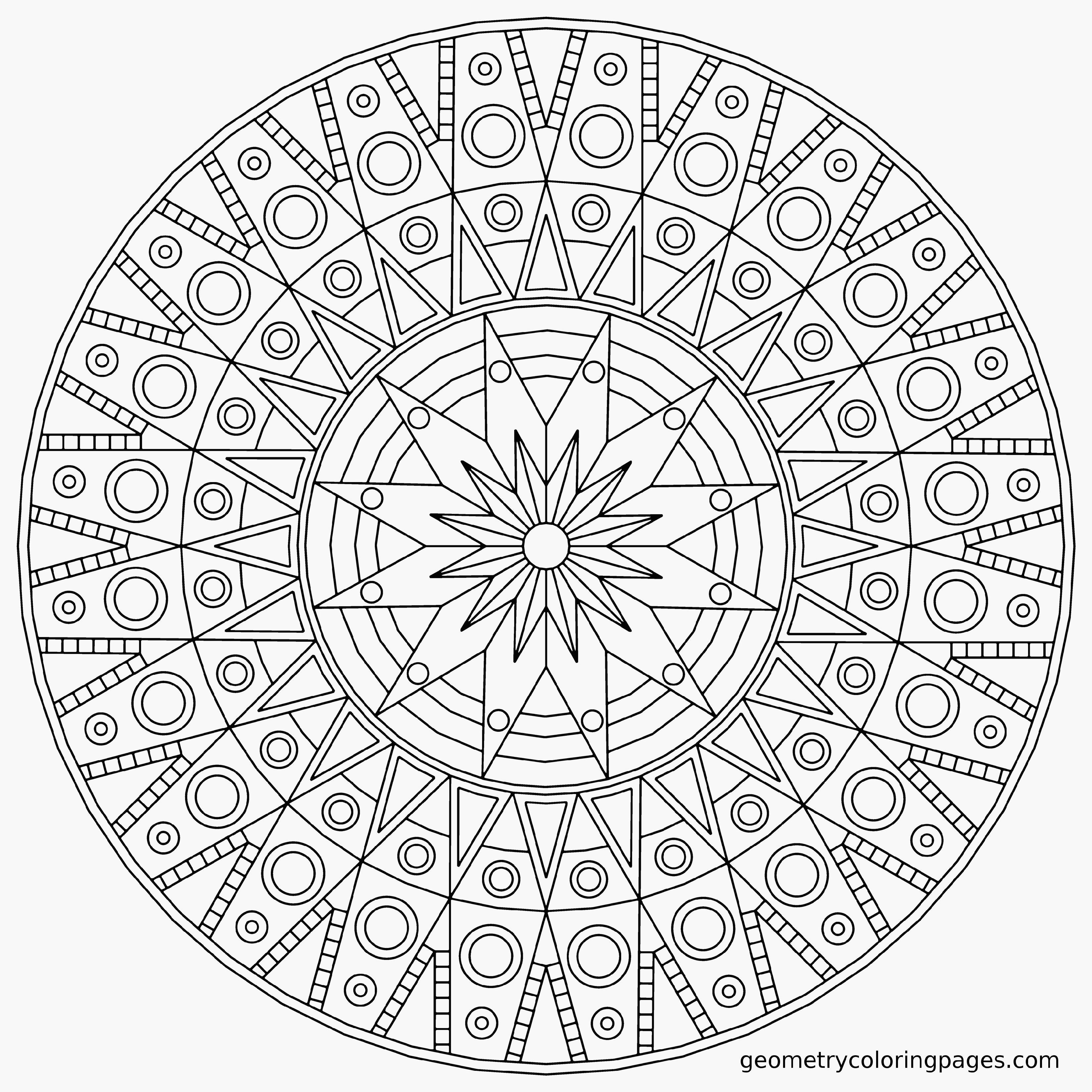imagens para colorir em alta 4 - Mandalas para Colorir em Alta Qualidade