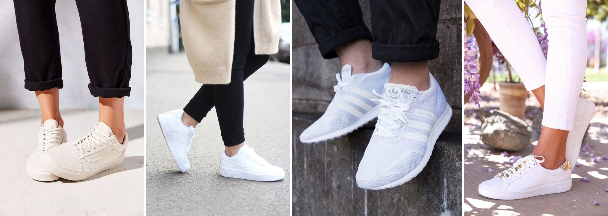 onde comprar tênis branco - Onde Comprar: Tênis Branco por Menos de R$100