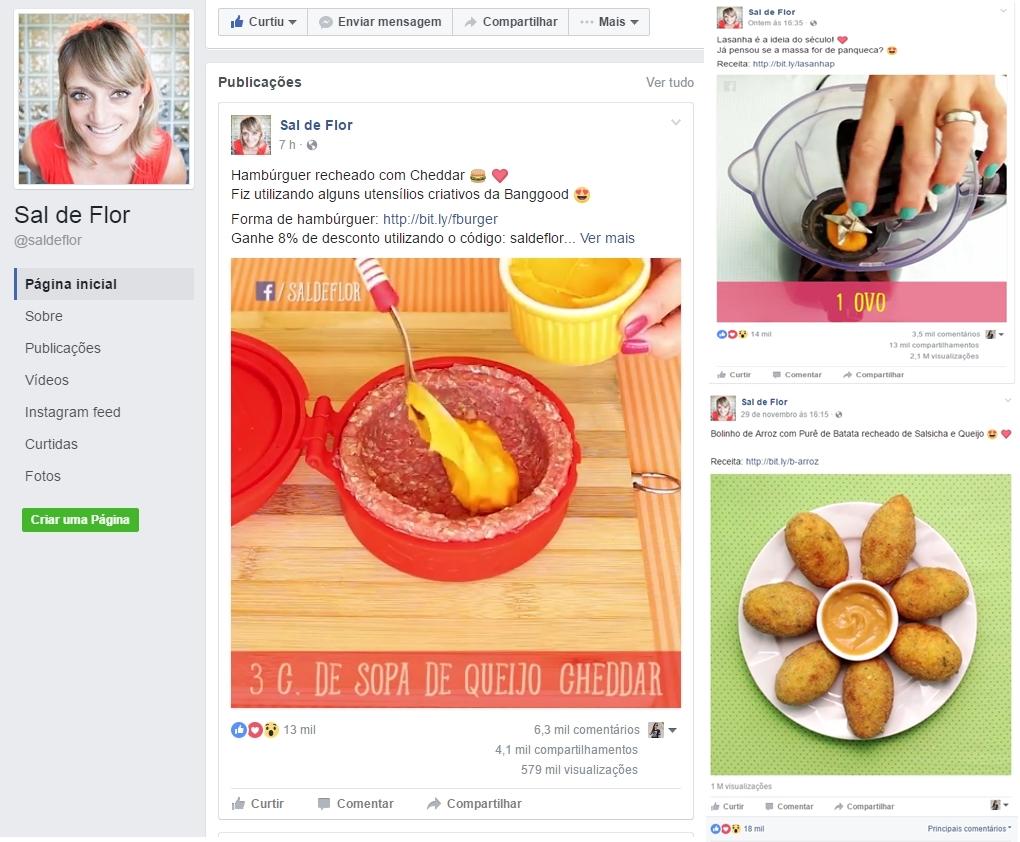 Fanpages para quem ama cozinhar 1 - 4 Fanpages pra Quem Ama Cozinhar