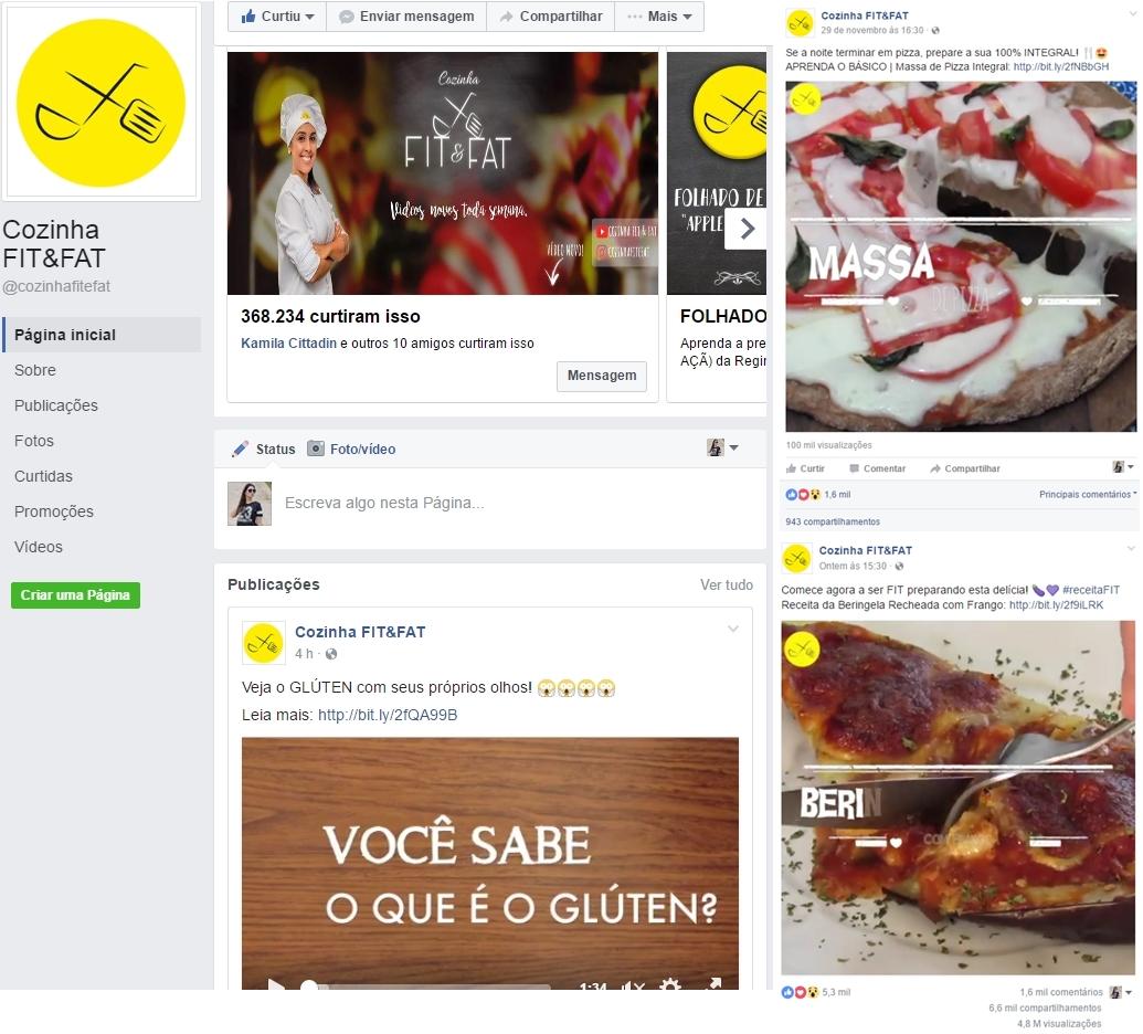 Fanpages para quem ama cozinhar 2 - 4 Fanpages pra Quem Ama Cozinhar